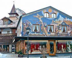 Oberammergau Fresco Painting 001